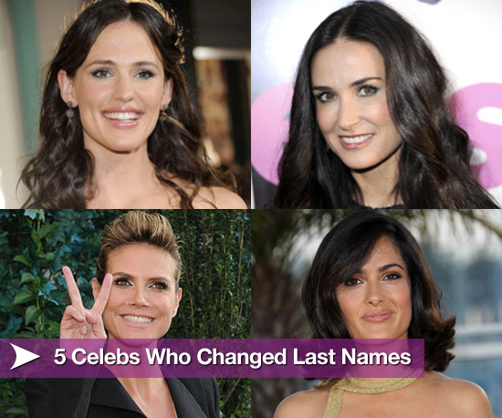 5 celebs who changed their last names popsugar love sex for 1 name celebrities