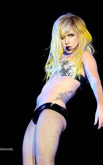 Lady Gaga performs as part of Lollapalooza 2010 at Grant Park on August 6, 2010 in Chicago, Illinois.