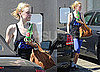 Pictures of Dakota Fanning Working Out in LA