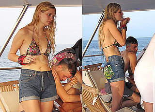 Pictures of Mischa Barton Smoking Something in Her Bikini