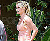Slide Picture of Britney Spears Outside the Recording Studio in LA