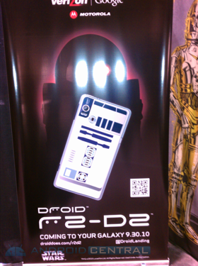 Droid 2 R2-D2 Edition Launch Date