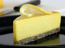Heart Healthy Lemon Cheesecake