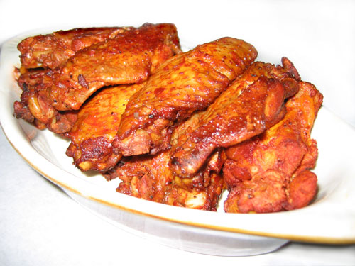 Spicy Cajun Chicken Wings