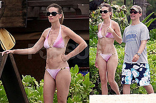 Pictures of Hilary Swank in a Bikini