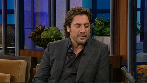 Javier Bardem Interview on The Tonight Show Talking about Brad Pitt