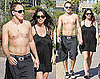 Alanis Morissette Reveals Her Baby Bump on a Stroll With Her Shirtless Hubby