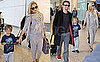 Pictures of Kate Hudson With Matt Bellamy and Ryder Robinson in London