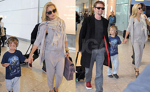 Photos de Kate Hudson avec Matt Bellamy et Ryder Robinson à Londres