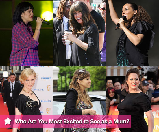 Who Are You Most Excited to See as a Mum?