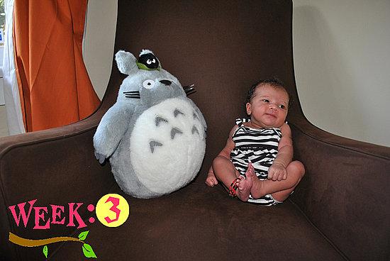 Olivia Lily 3 Weeks Old!!