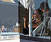 Slide Picture of David and Victoria Beckham in Santa Monica