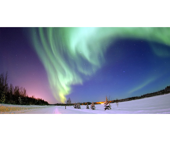 Admire the Alaskan Aurora Lights