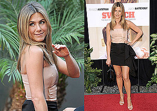 Pictures of Jennifer Aniston on the Red Carpet Before the LA Premiere of The Switch