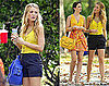 Leighton and Blake Gossip in Matching Summer Brights in NYC