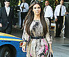Slide Picture of Kim Kardashian Leaving SLS Hotel in LA