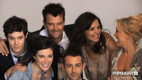 Katie Holmes, Josh Duhamel, Adam Brody & Cast of The Romantics J.Crew Collection Photo Shoot Behind the Scenes 2010-08-17 15:50:40