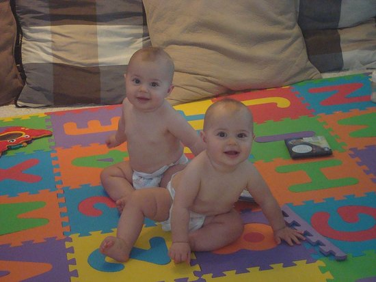 Rory and Josie at 10 months