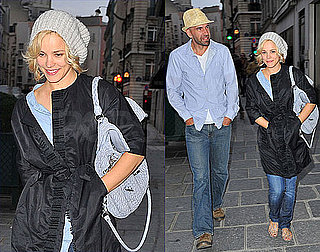 Pictures of Rachel McAdams Having a Walk in Paris