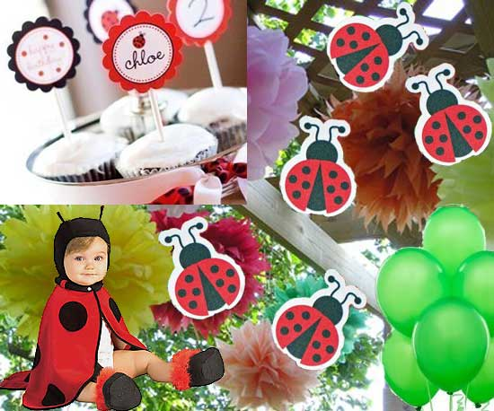 Lovely Ladybug Birthday Party