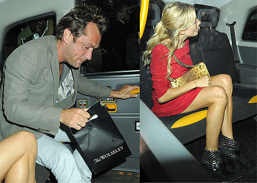 Pictures of Sienna Miller and Jude Law On A Date At The Wolseley In London