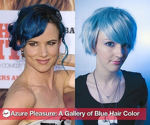 Pictures of People With Blue Hair