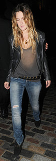 Drew Barrymore Wears IRO Jeans and Current/Elliott Top in London