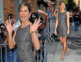 Jennifer Aniston Arriving at The Daily Show