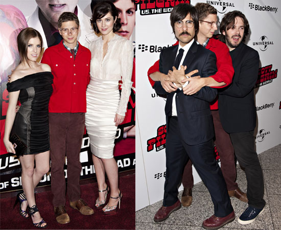 The Scott Pilgrim vs. the World European Premiere in London