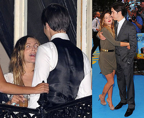 Pictures of Drew Barrymore and Justin Long at the London Premiere of Going the Distance