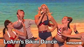 Video of LeAnn Rimes Performing in a Bikini on America's Got Talent