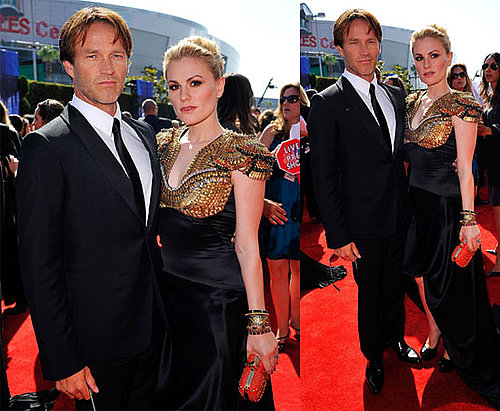 Anna Paquin and Stephen Moyer at the 2010 Primetime Emmys