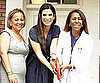 Slide Picture of Sandra Bullock Cutting Ribbon at New Orleans Health Clinic