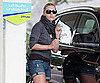 Slide Picture of Kate Winslet Refueling Her Car in the UK