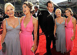 Pictures of Keri Russell, Amy Poehler, and Will Arnett at the 2010 Emmy Awards