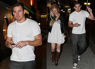 Pictures of Channing Tatum on Dinner Date With Mystery Girl