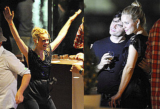 Pictures of Rachel McAdams Dancing to Celebrate the End of Her Midnight in Paris Shoot