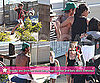 Pictures of Victoria, Cruz, Romeo, Brooklyn, and Shirtless David Beckham in Malibu