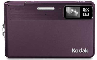 Pictures of the Kodak M590 and PlayTouch Cameras