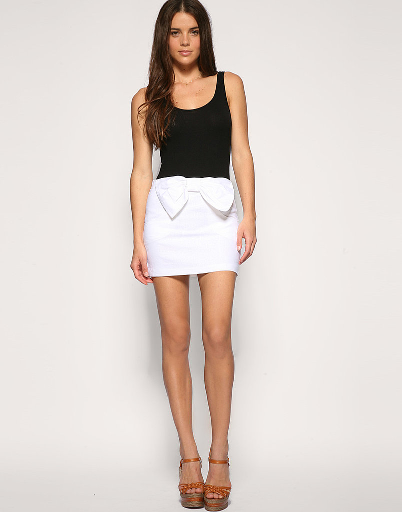 Asos Bow Front Linen Skirt ($17, originally $48)