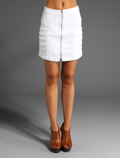MINKPINK Zip to It Waisted Skirt ($79)