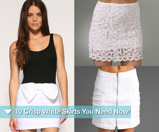 10 Crisp White Summer Skirts You Need Now!