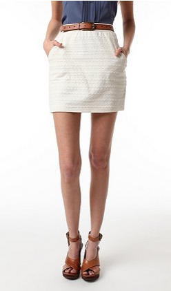 Pins and Needles Knit Straight Skirt ($48)