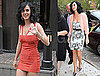 Pictures of Katy Perry in Floral Dress in New York