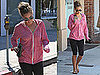 Pictures of Lauren Conrad In Gym Clothes Leaving Spa in LA After Laser Hair Removal