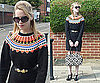 Paul Smith Fairisle Knit Jumper Dress