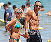 Slide Picture of Britney Spears in Bikini and Jason Trawick Shirtless in Hawaii