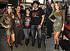 Jessica Alba, Michelle Rodriguez, Robert Rodriguez at the Machete Premiere in LA