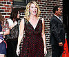 Slide Picture of Christina Applegate Leaving The Late Show Studios in NYC