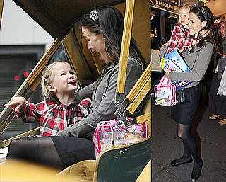 Pictures of Jennifer and Violet Playing Patty-Cake in the Park as Ben Hits the Road for The Town